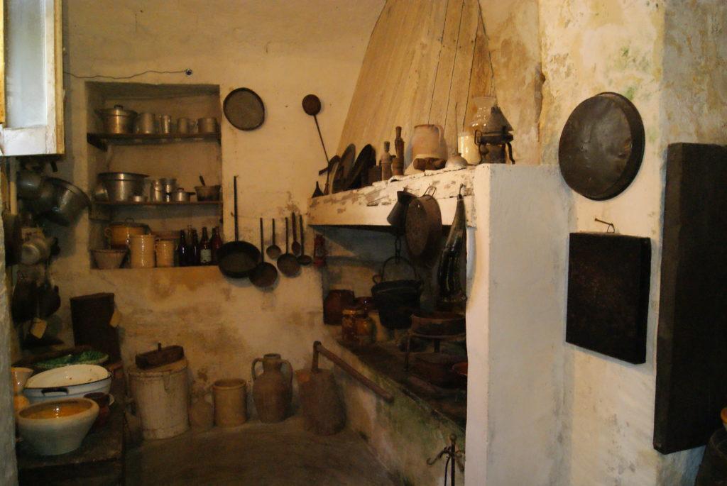 Interior de um sasso - Matera.