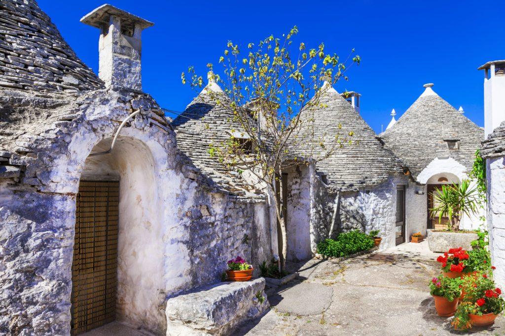 Alberobello, Puglia – Sul da Itália