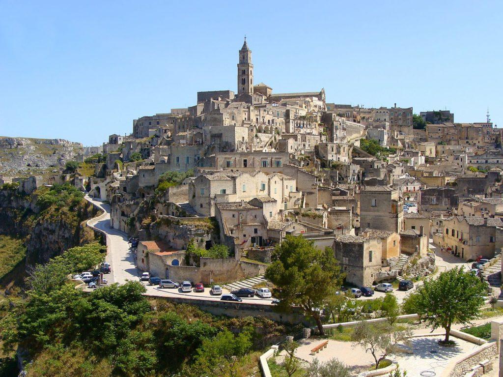 Vista panorâmica de Matera, Basilicata – Sul da Itália