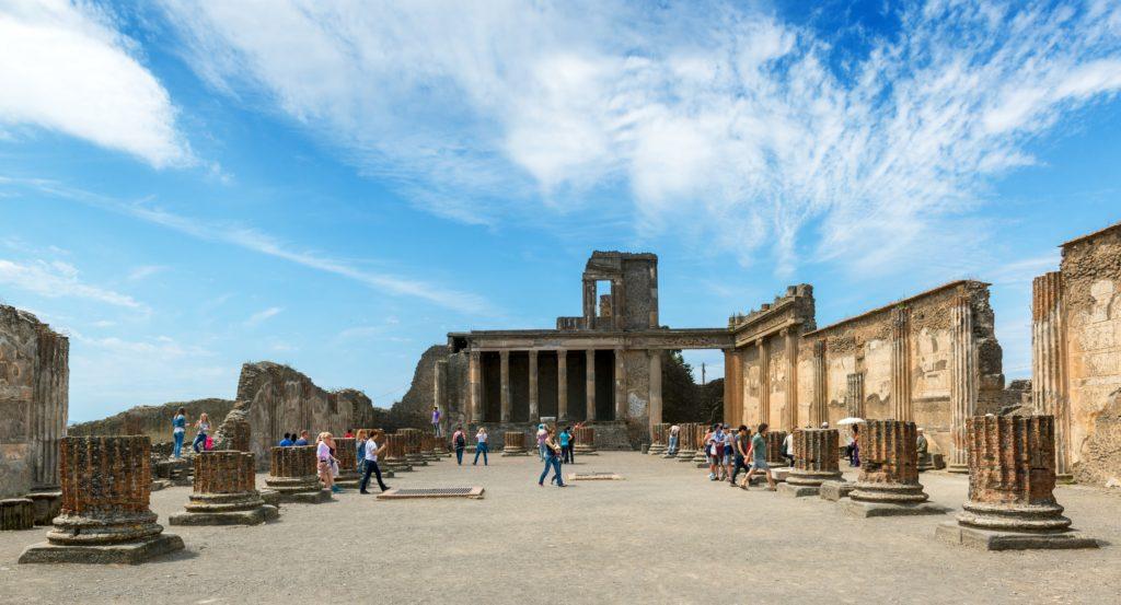 Ruínas de Pompeia – Sul da Itália.