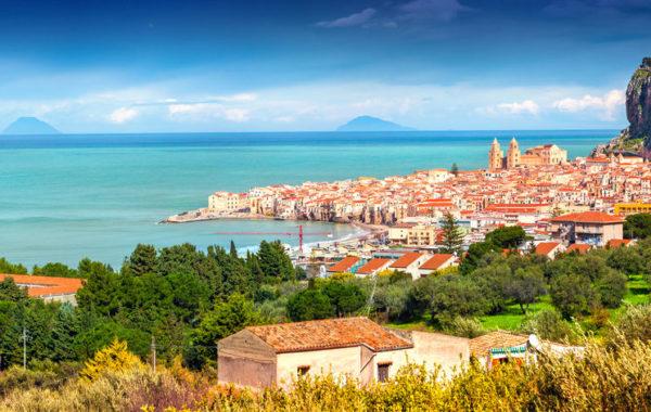 Panorama de Cefaù - Sicília.