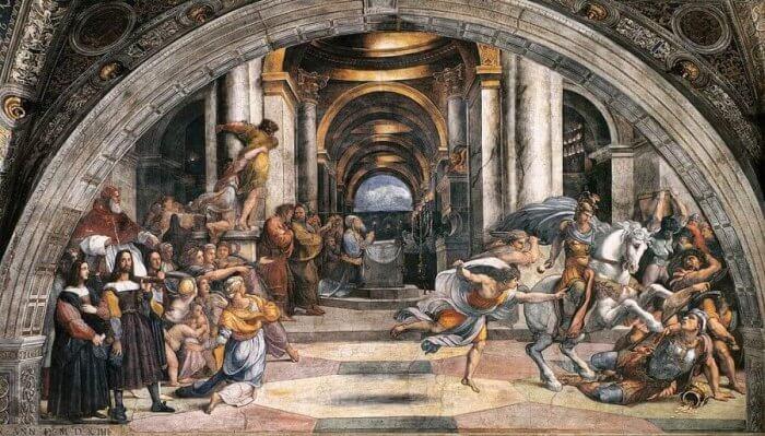 Stanza di Eliodoro - Museus Vaticanos