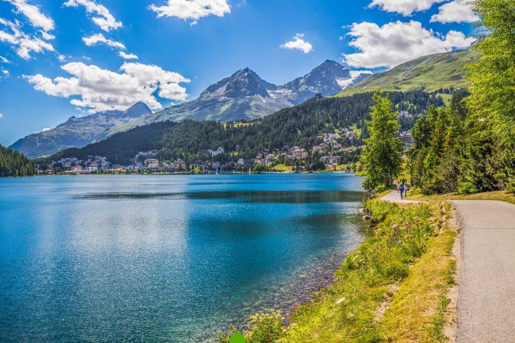Lago de St. Moritz