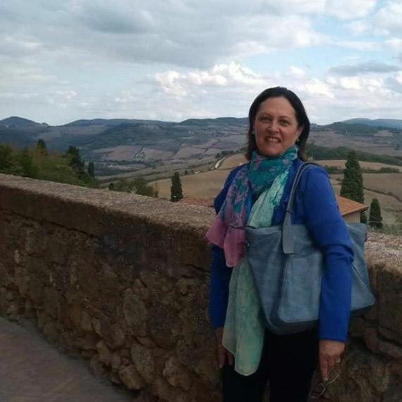 Sonia Maria dos Santos, Santo André – SP  <br/> Itália Sonhada – outubro 2017