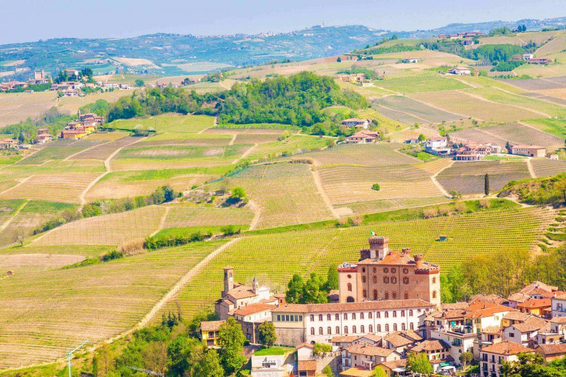 Castelo de Barolo - Langhe - Piemonte