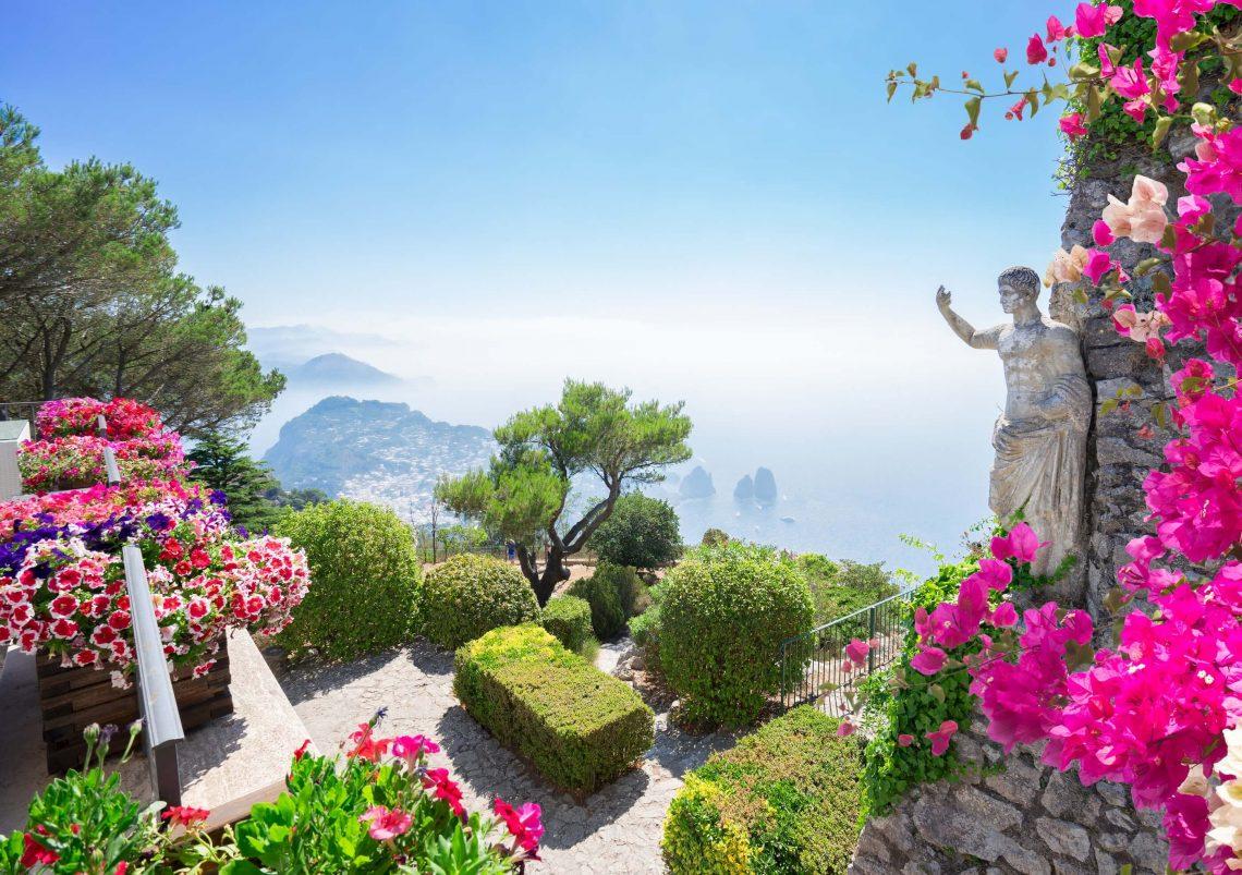 Vista de Capri.