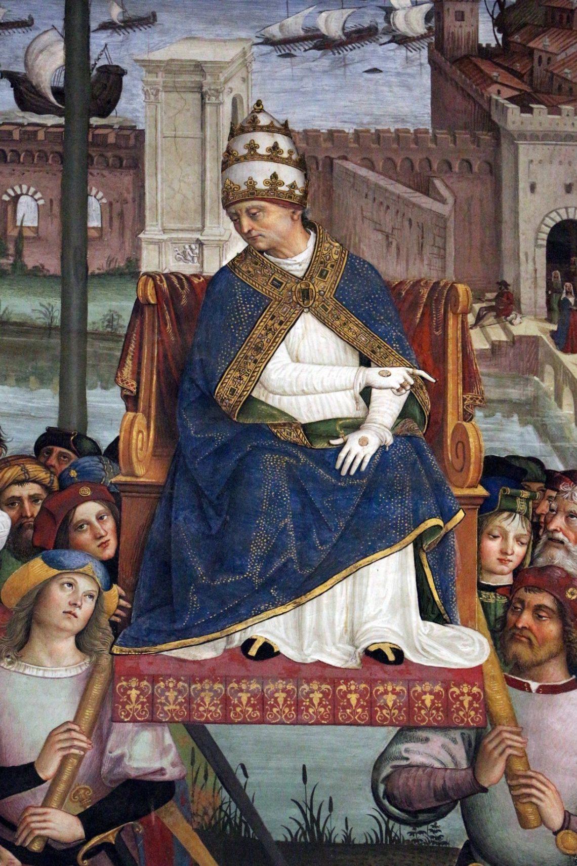 Pio II chega a Ancona para dar início a cruzada