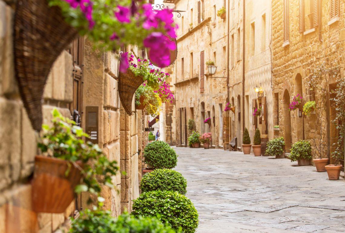 Rua de Pienza - Toscana.