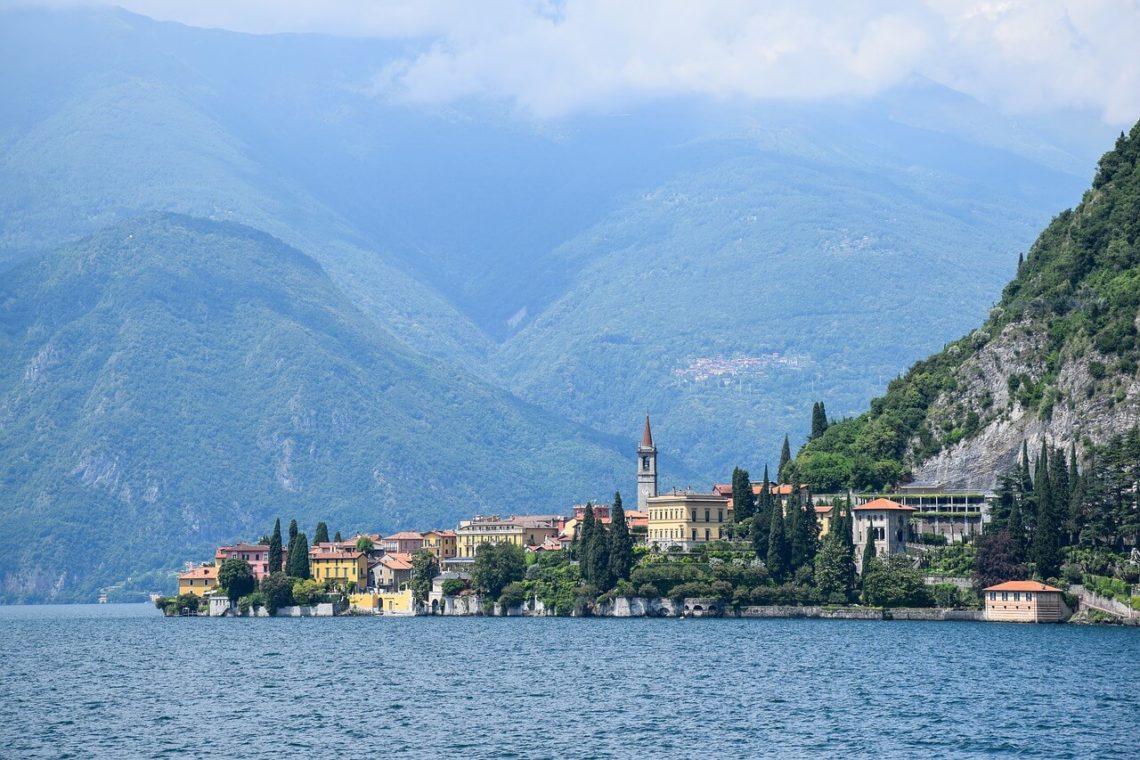 Lago de Como - Itália.