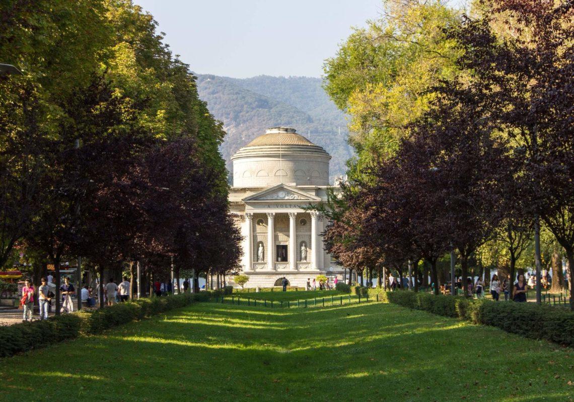Tempio Voltiano em Como - Itália.