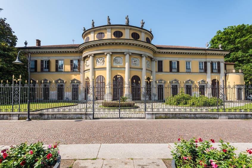 Villa Rotonda Saporiti em Como - Itália.