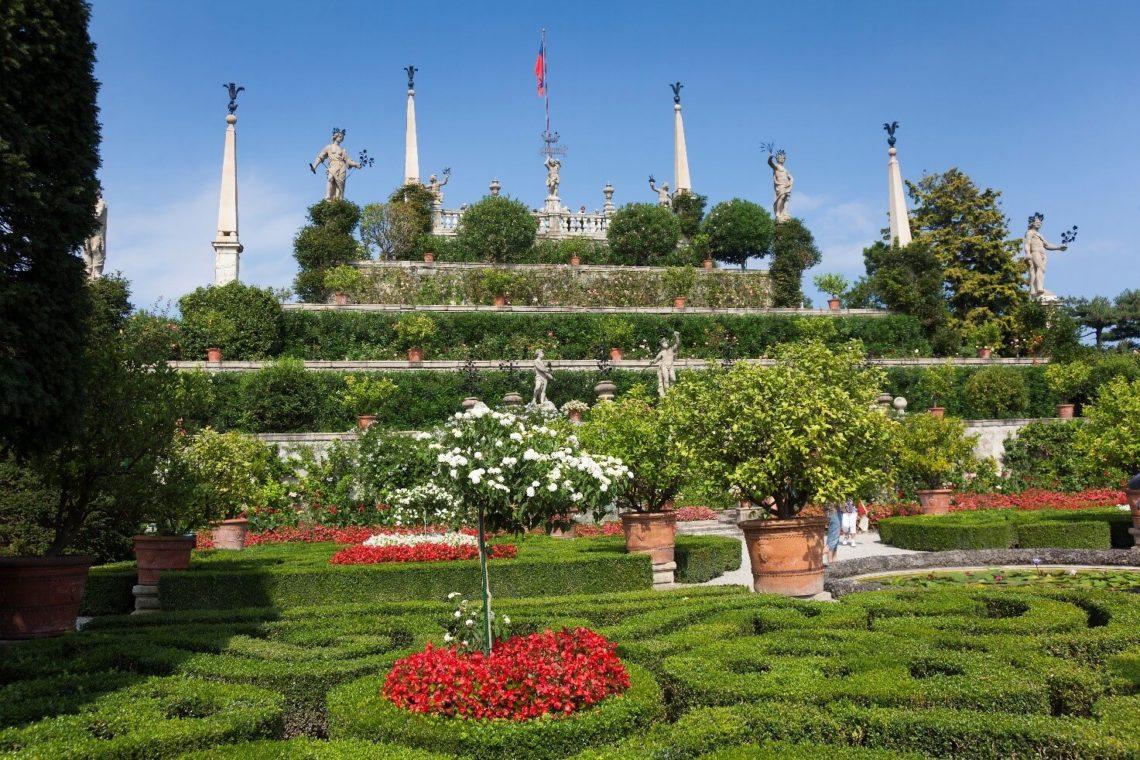Jardins suspensos da Isola Bella