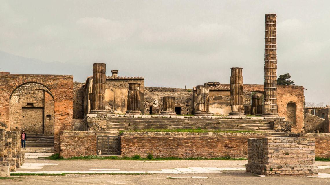 Templo de Júpiter em Pompeia