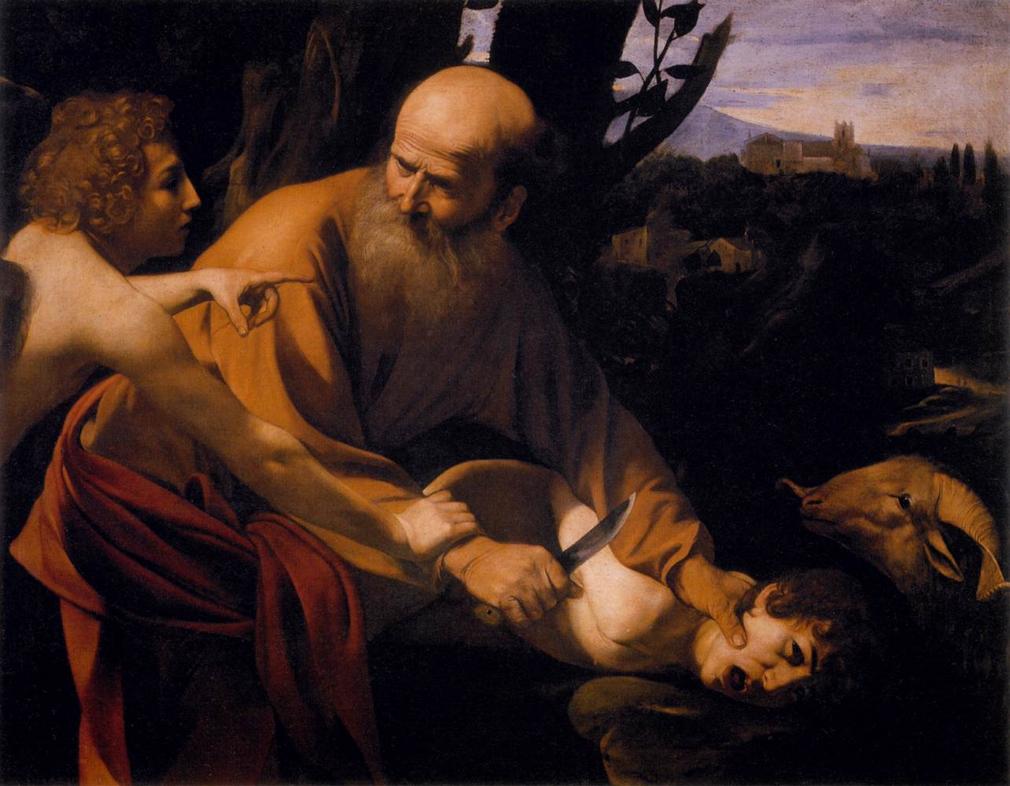 O Sacrifício de Isaac de Caravaggio