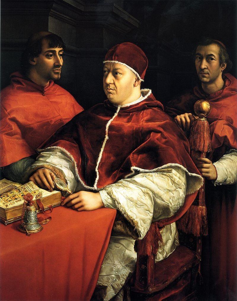 Retrato do Papa Leão X.